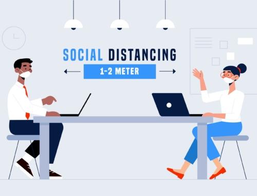 Meetings, samen bij elkaar op veilige afstand